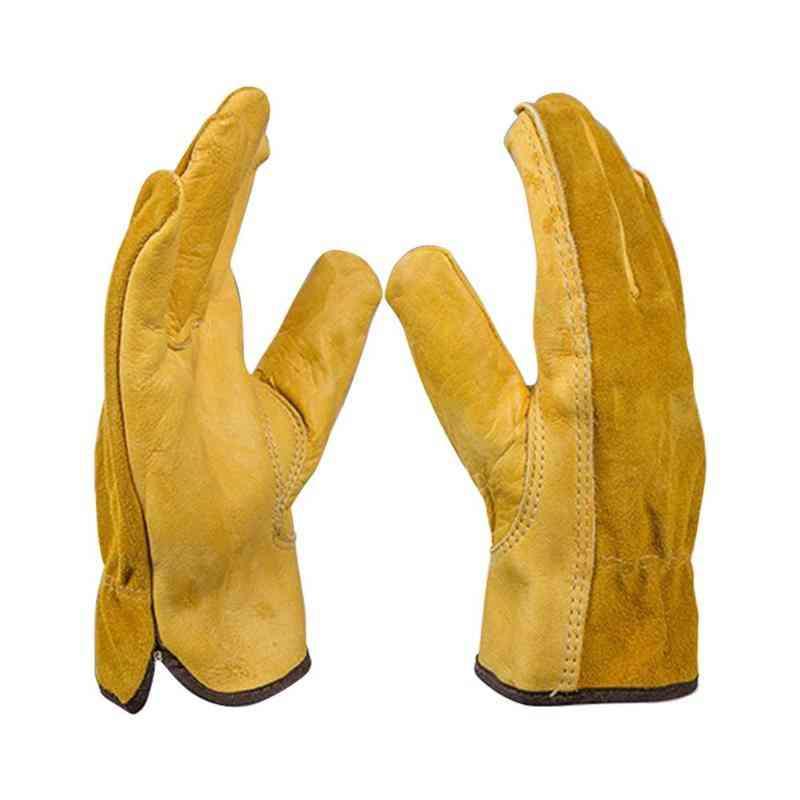 Gardening Gloves For Roses Leather Work