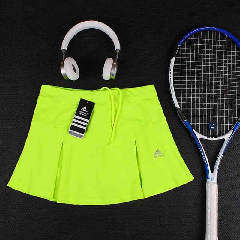 Tennis Skorts, Girl Tennis Skirt With Shorts, Badminton Skirt With Pocket