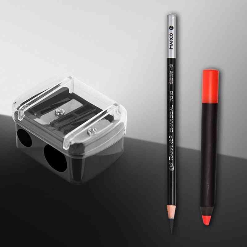 Double-hole, Cute Classical, Makeup Pen, Pencil Sharpener