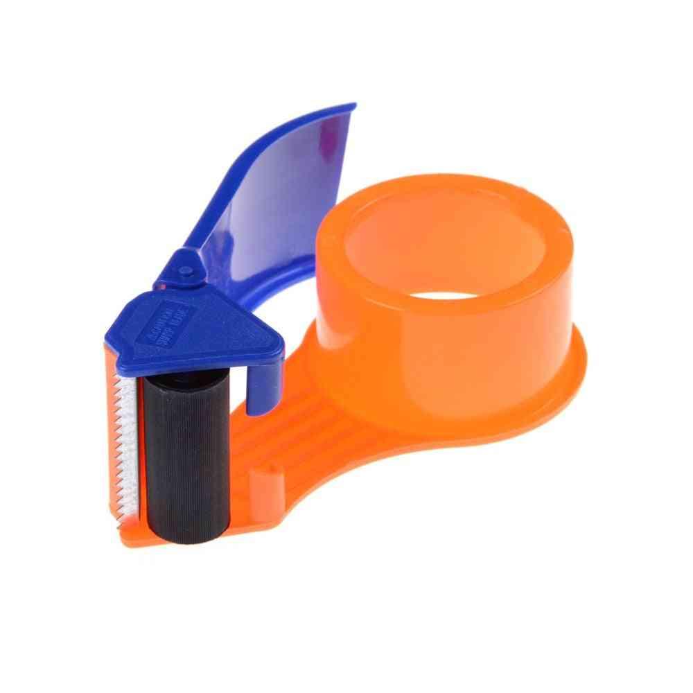 Plastic Roller Tape, Cutter Dispenser For Sealing, Packaging, Parcel