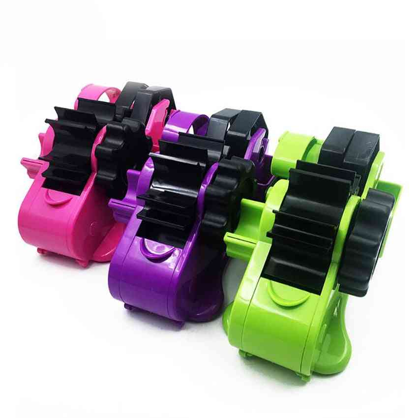 2-rollers, Tape Dispenser With Holder Sharp, Tape Cutter