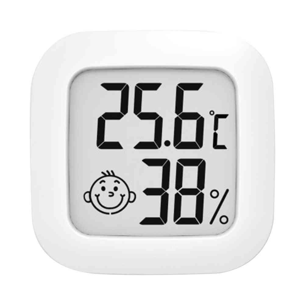 Humidity Meter Electronic Monitor Smile Face