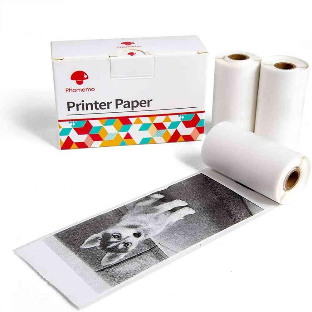 Transparent Label Thermal Paper/printable Sticker For Photo Printer