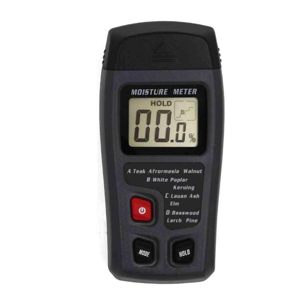 Digital Lcd Display Two Pins Wood Moisture Meter