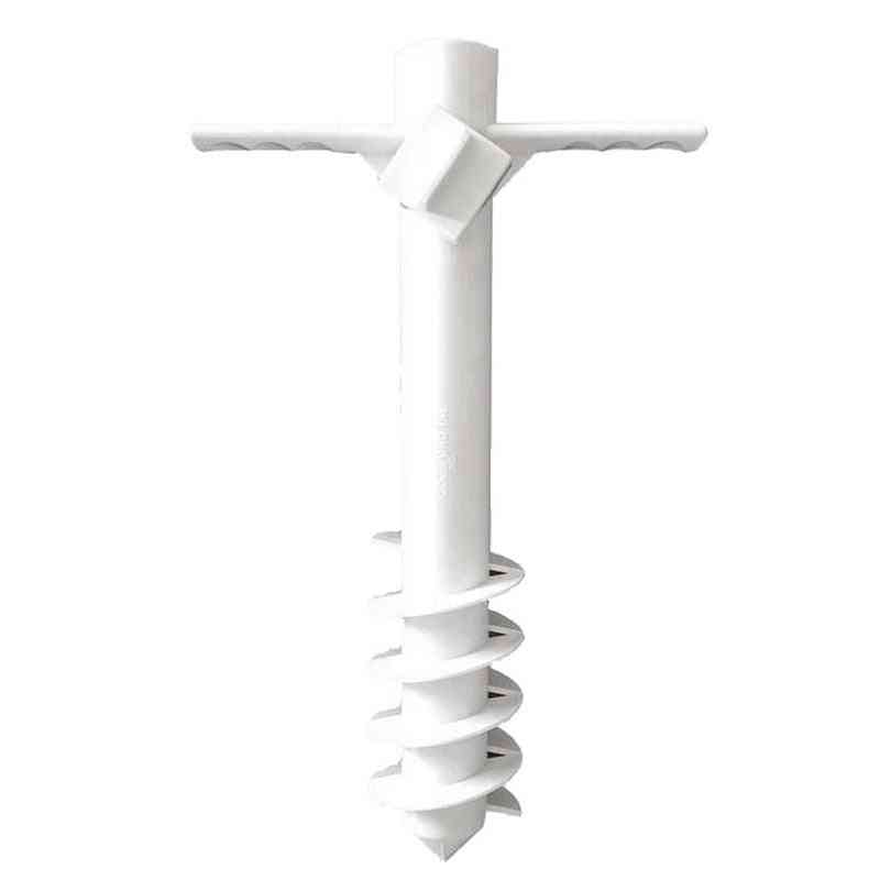 Plastic Pins Heavy Duty Ground Anchor Stand For Strong Winds