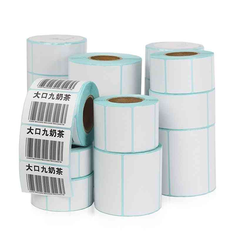Roll Adhesive Thermal Label Sticker Paper