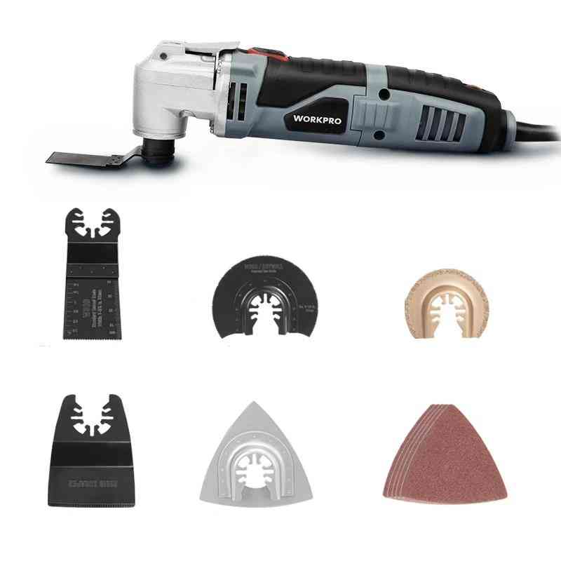 Oscillating Multi-tool Electric Trimmer Saw Home Renovator Tool