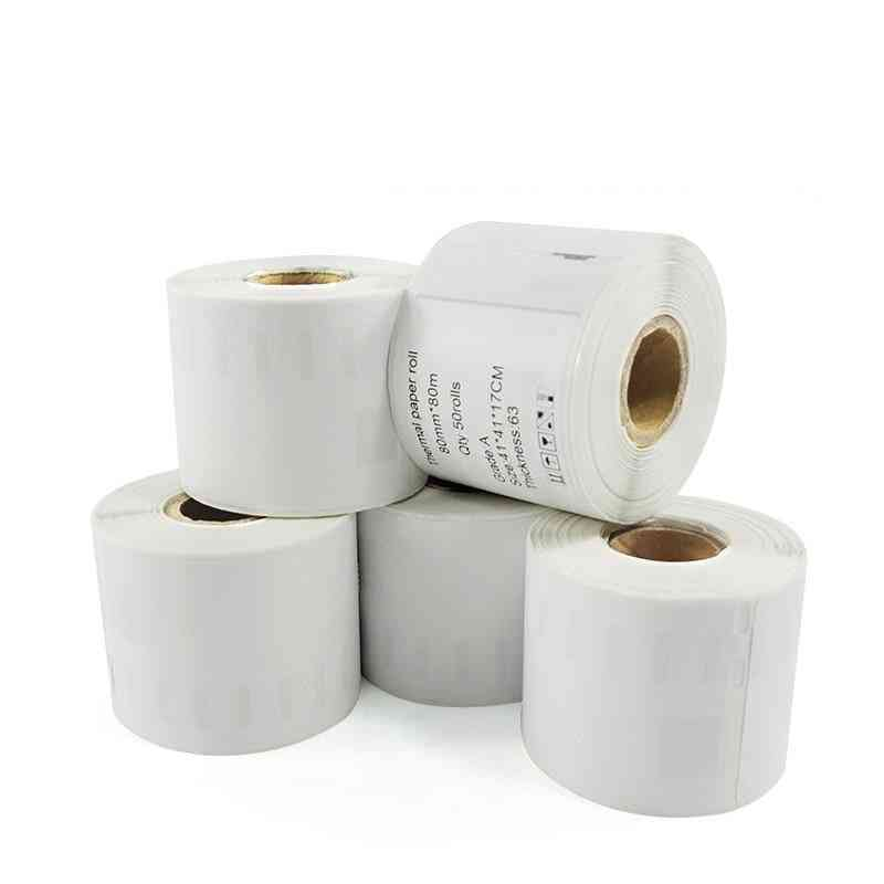 Dymo Thermal Label Barcode Self-adhesive Label Paper Sticker