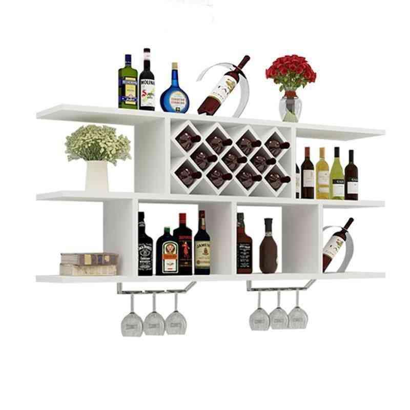 Shelf Commercial Furniture Bar Wine Cabinet