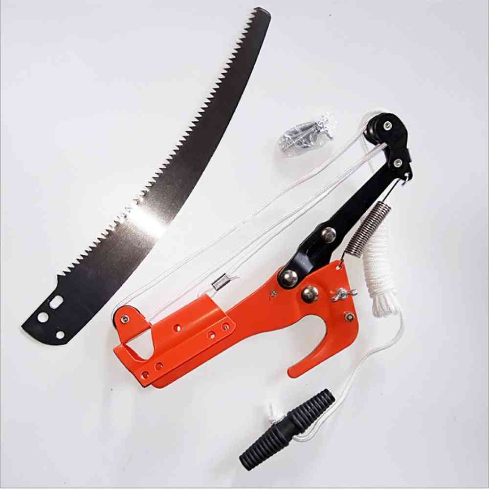 Outdoor High-altitude Extension Lopper Branch Scissors, Extendable Fruit Tree Pruning Saw, Cutter, Garden Trimmer Tool