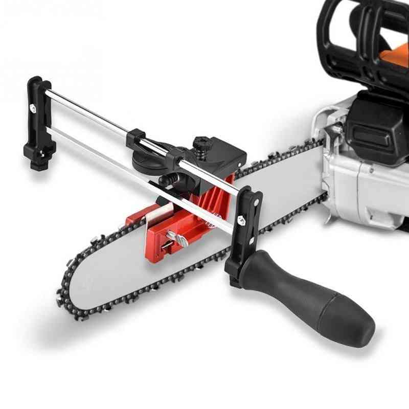 Professional Lawn Mower Chainsaw Chain File Guide Sharpener Grinding