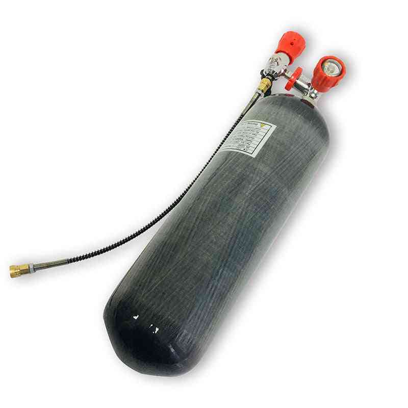 Carbon Fiber Air Tank 4500psi Hpa Paintball Airsoft Tank High Pressure Cylinder