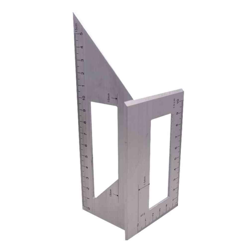 Degree Gauge Angle Ruler Measuring Woodworking Tool