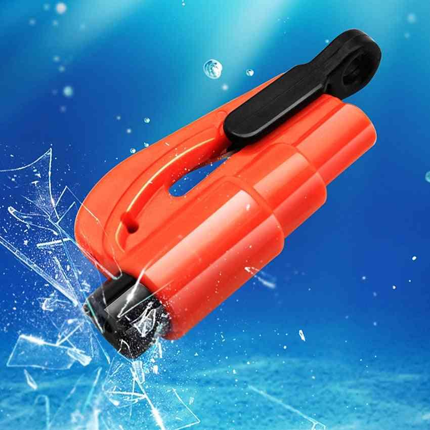 Outdoor Emergency Rescue Tool, Glass Window Breaker Escape & Safety Hammer