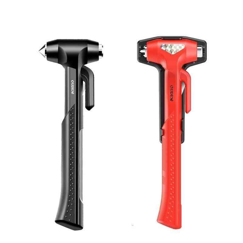 Emergency Seatbelt Cutter & Window Punch Glass Breaker Hammer