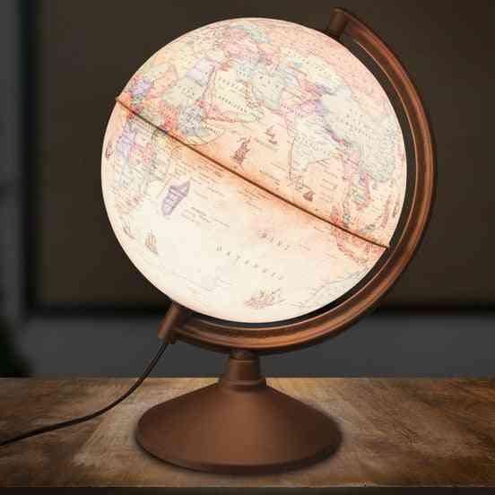 Objektive Illuminated Antique Globe