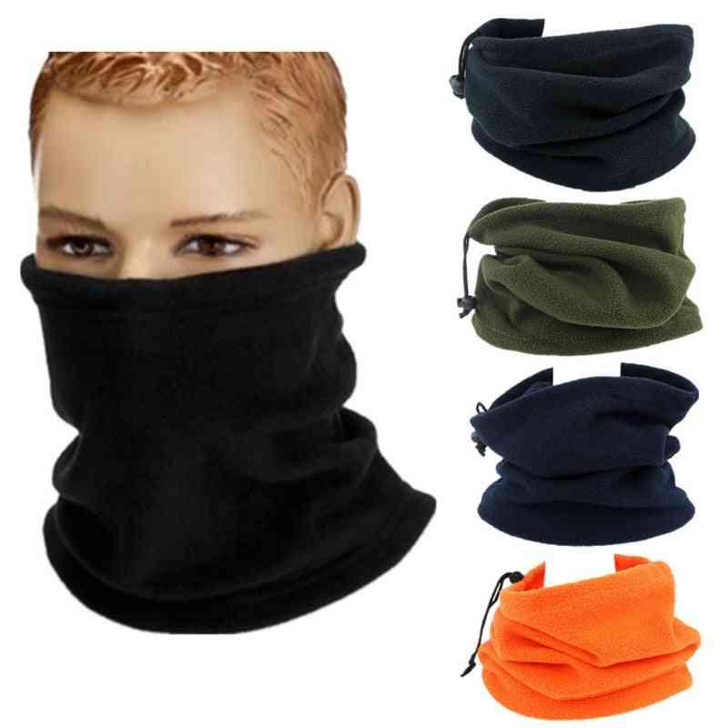 Warm Cycling Headwear Fleece Neck, Sports Scarf Face Mask