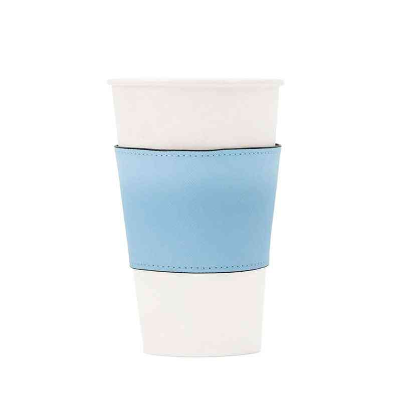 Genuine Leather Cup, Colorful Insulated Leather Cup