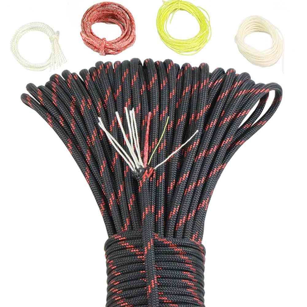 Noble Eagle Core Paracord, Outdoor Camping Survival Tool, Pe Fire Rope, Fishing Cotton Line, Parachute, Hiking