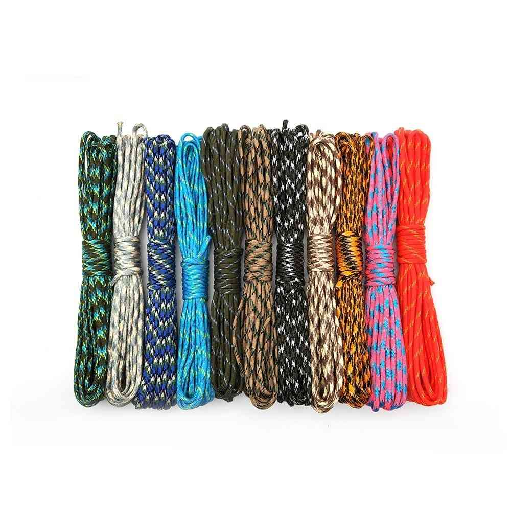 Camouflage Paracord, Parachute Cord,  Camping Survival Equipment Tents