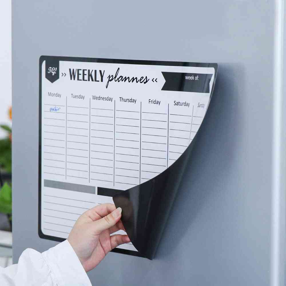 Magnetic Monthly Weekly Planner Calendar