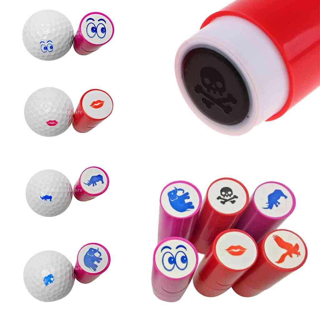 Colorfast Quick-dry Golf Ball Stamp, Stamper Marker, Club Accessories