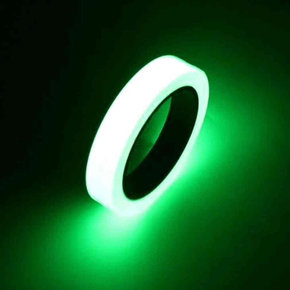 10m 10mm Luminous Tape Self-adhesive Warning Tape