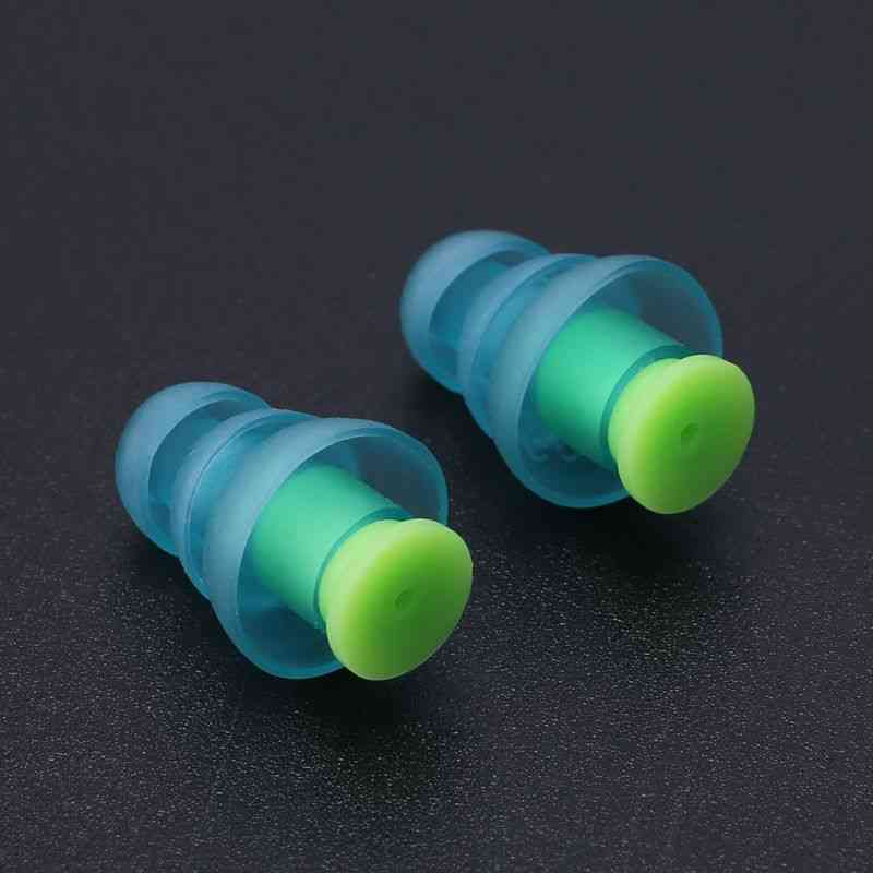 Silicone Ear Plugs Sound Insulation Ear Protection Earplugs