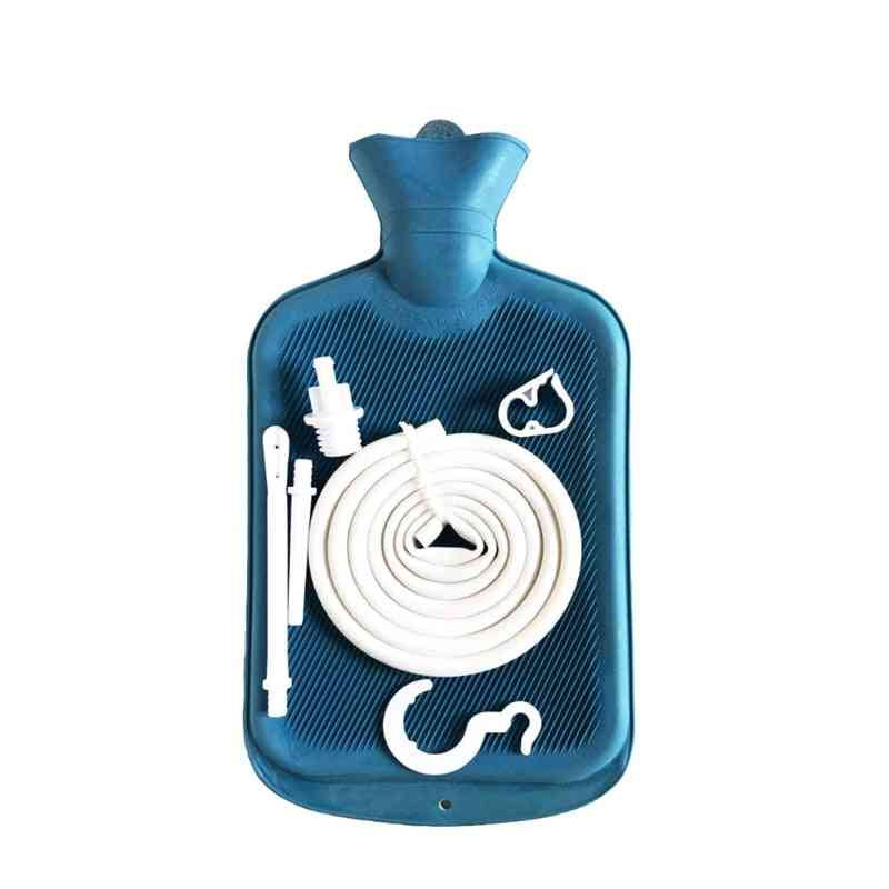 Shower Enema Bag Kit Cleansing Reusable Douche Kit Irrigator For Bathroom Accessories