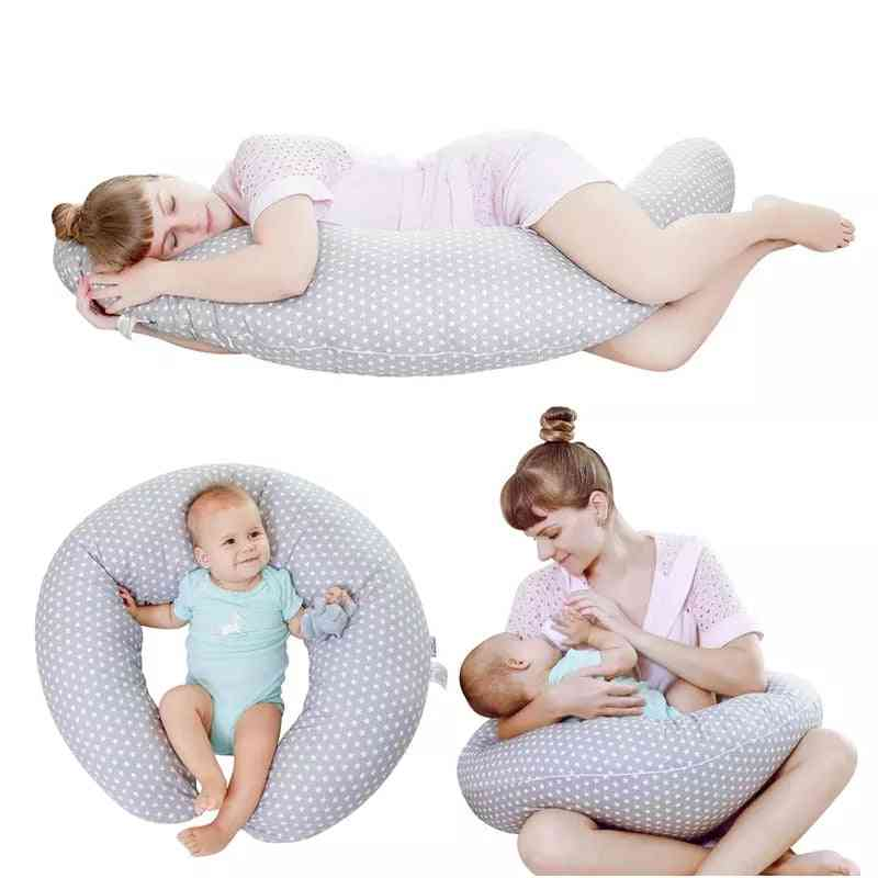 Washable Cushion Infant Baby Care Pillow Cover