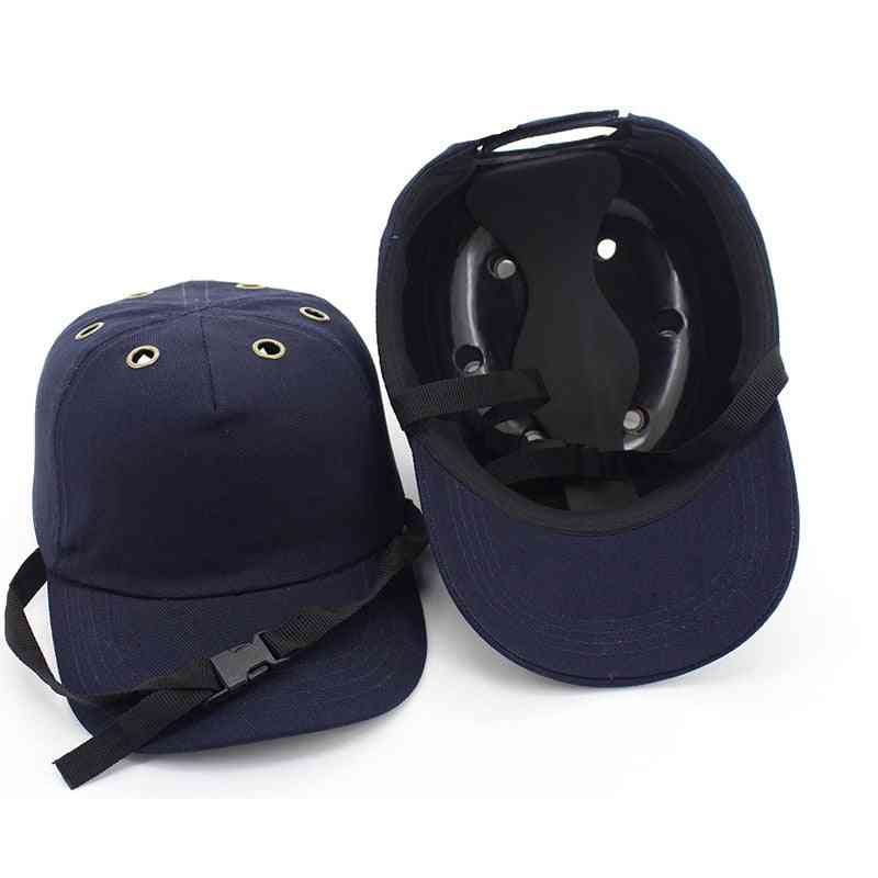 Baseball Bump Caps Lightweight Safety Hard Hat Head Protection Caps