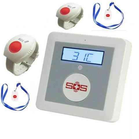 Elderly Healthcare Panel Alarm System App Remote Control