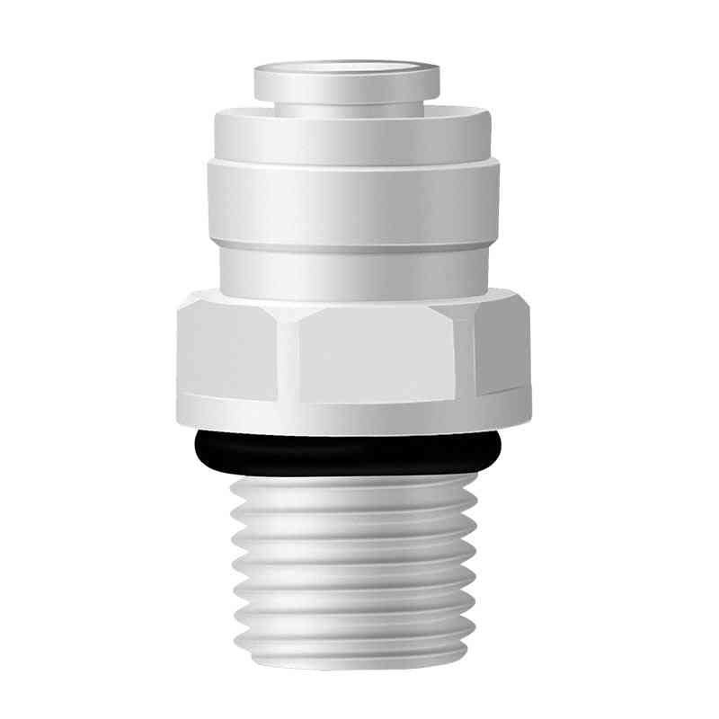 Tube Pe Pipe Fitting Straight Quick Connector