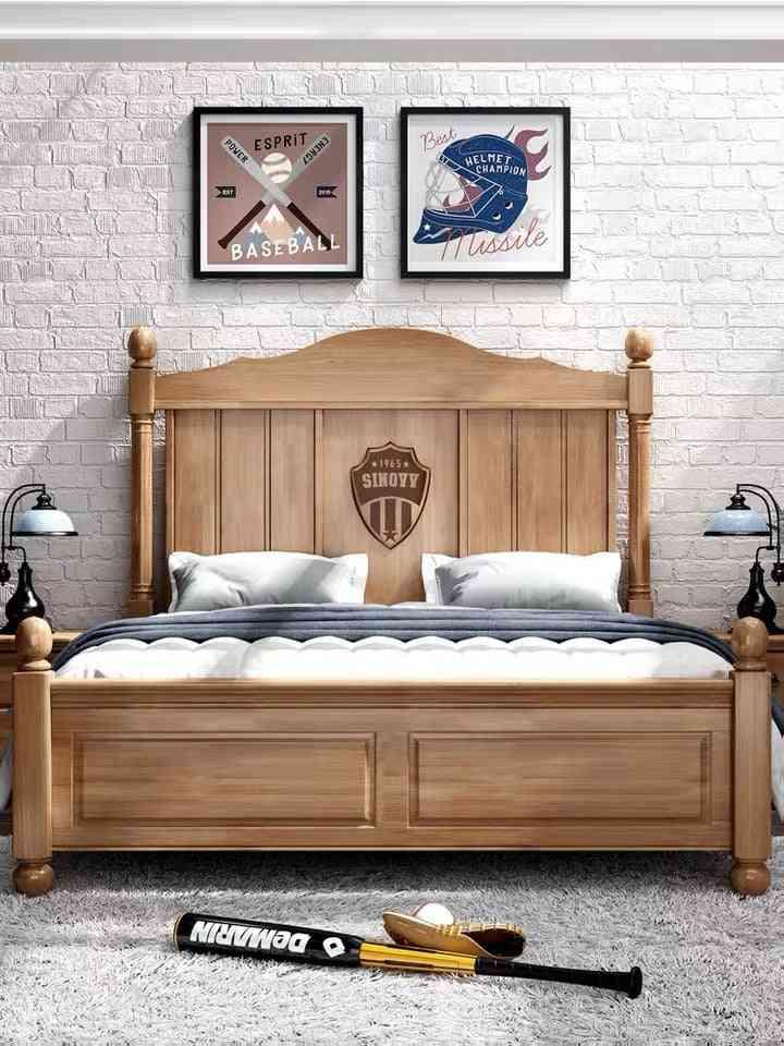 Bedroom Furniture Nordic Combination Bed Set