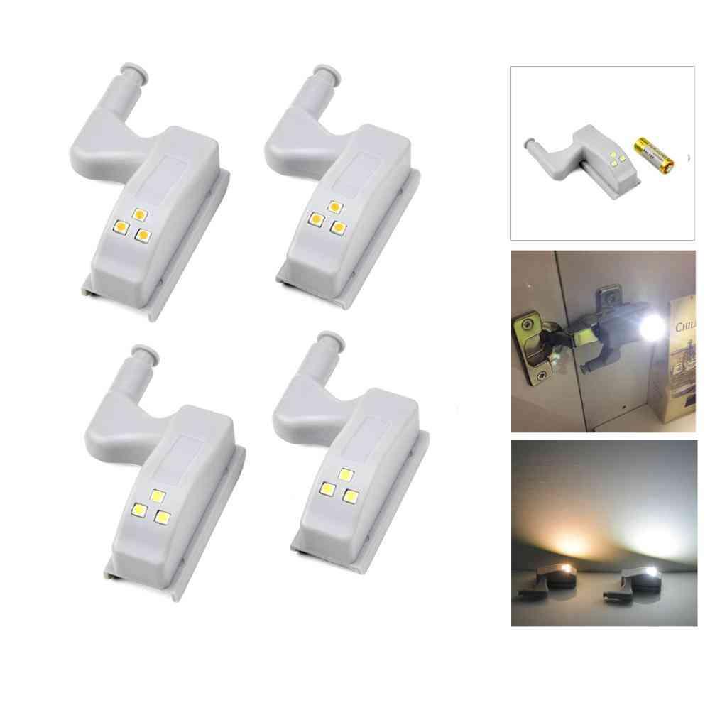 Kitchen Cabinet Accessories Inner Hinge Light Auto On/off Switch Closet Wardrobe Cupboard Night Lighting