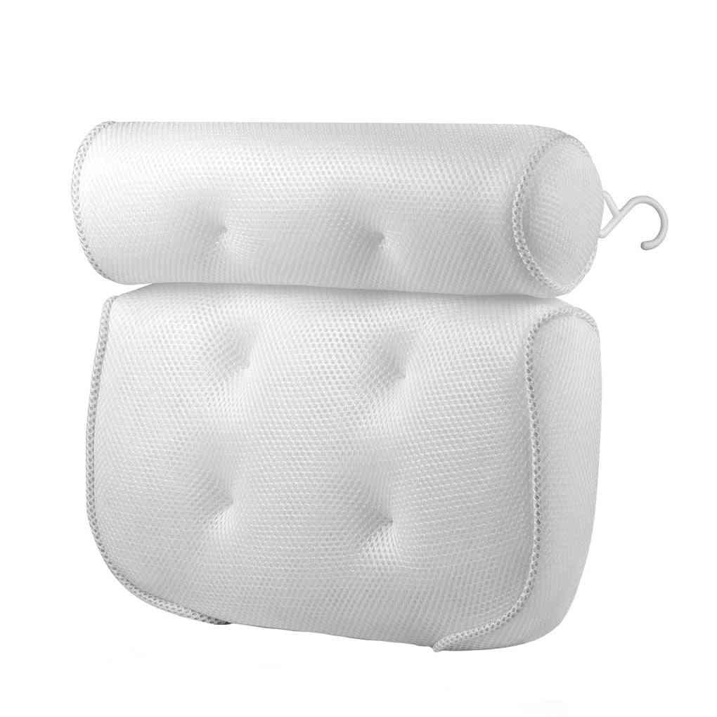 Bathtub Head Neck Support Pillow Breathable