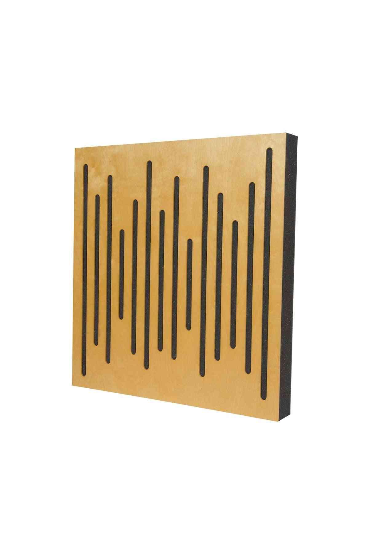 Acoustic Wood Diffuser, Panel Music Studio, Efficient Solution Wall Decor Design Handmade