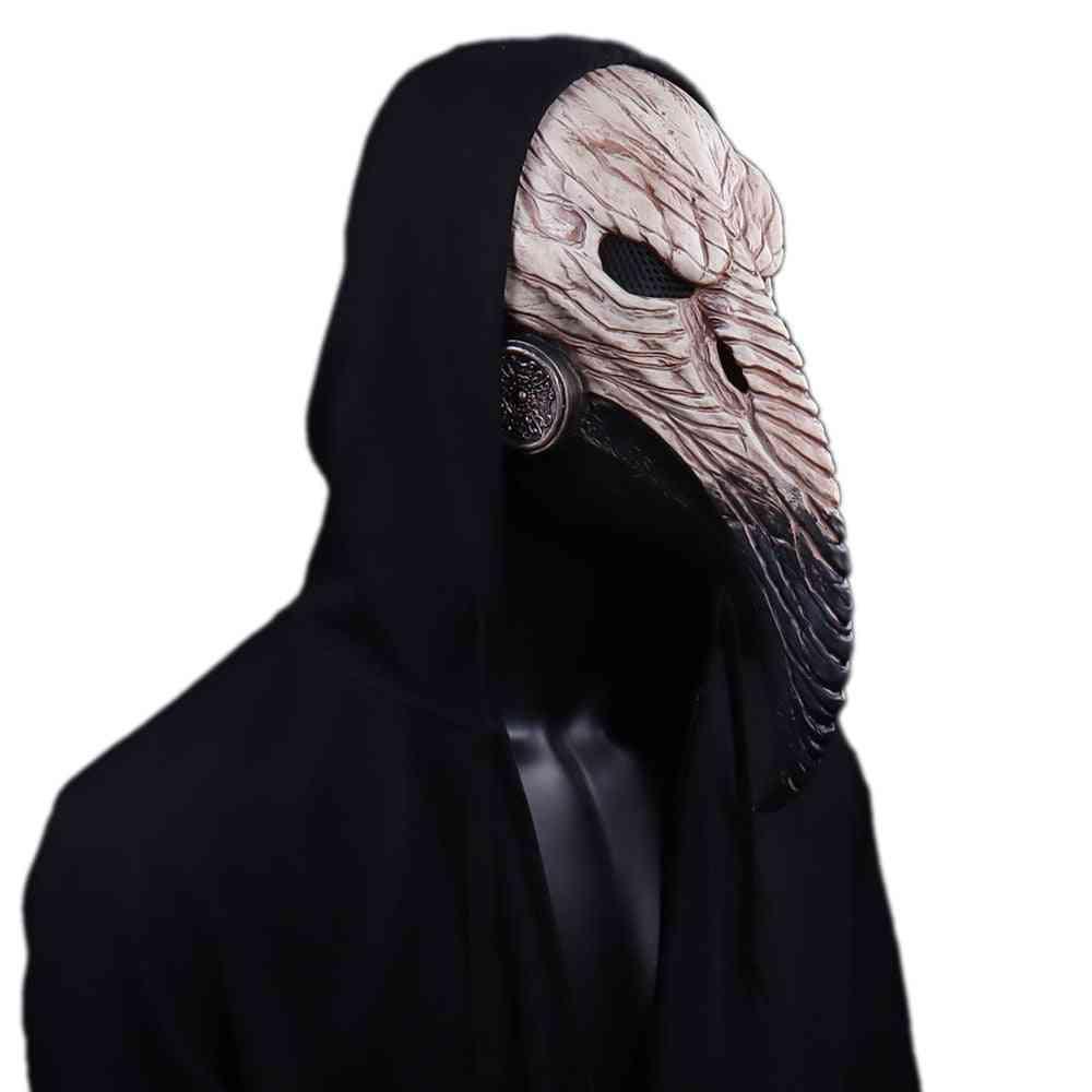 Cosplay Long Nose Bird Beak Latex Masks