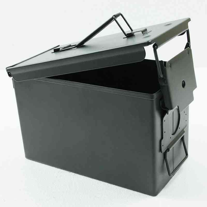 Ammo Can All-metal Box Military & Army Styling Stackable Gun Ammo Case