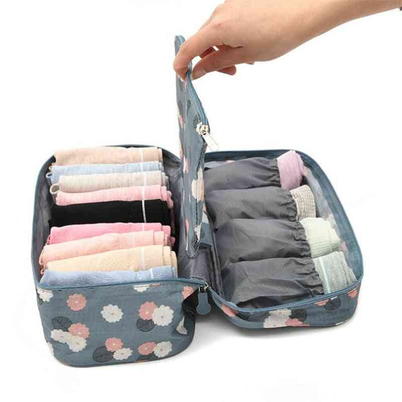 Women Bra Storage Bag, Travel Underwear Bag