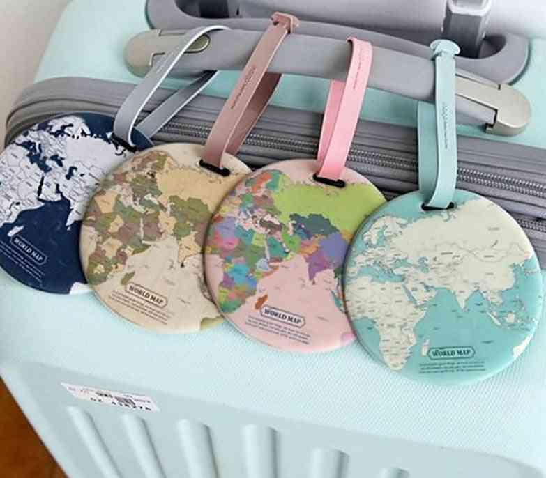 Fashion Map Luggage, Women Travel Accessories