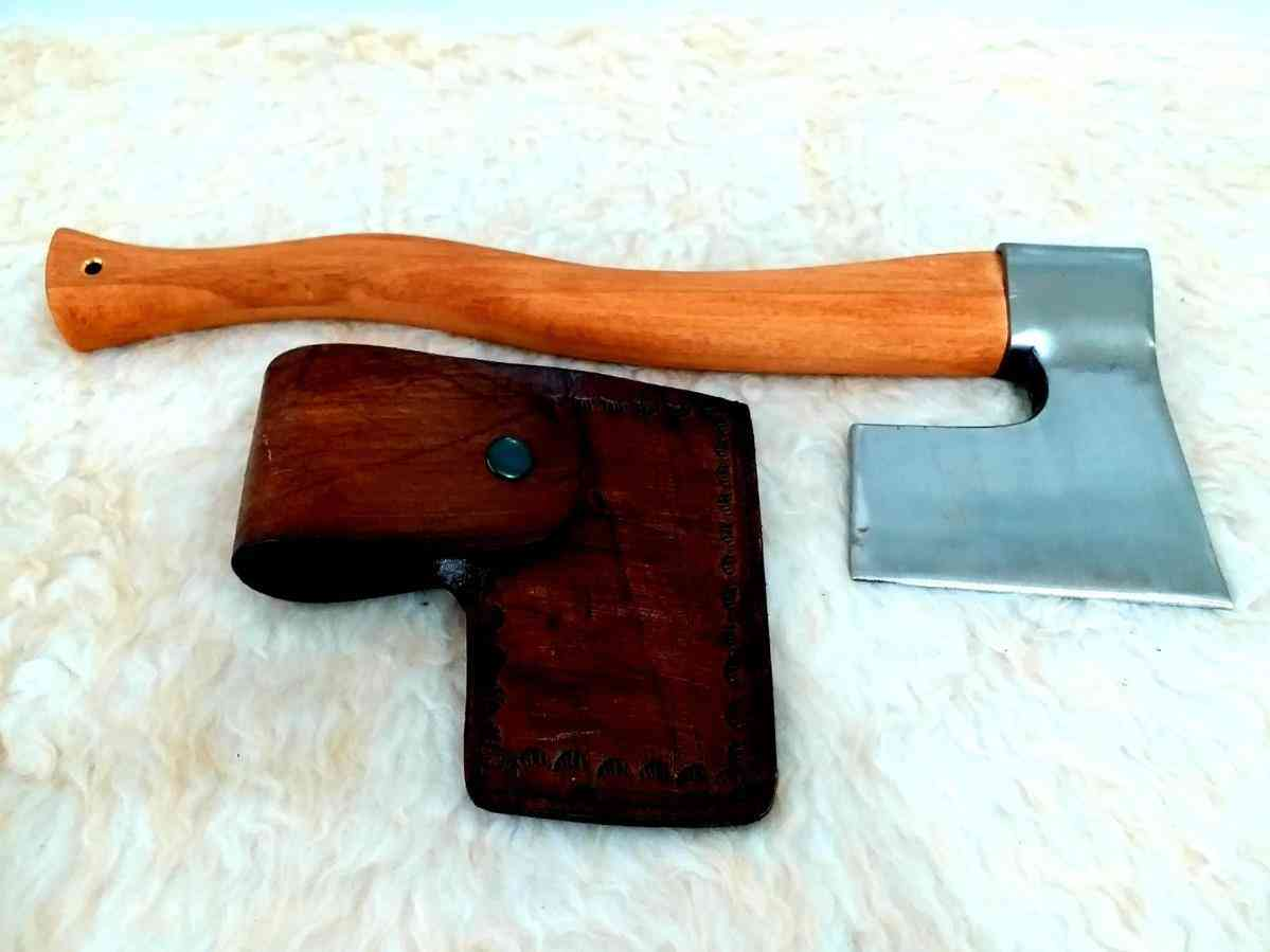 Handmade Forged Steel Nature Camping And Hunter Axe