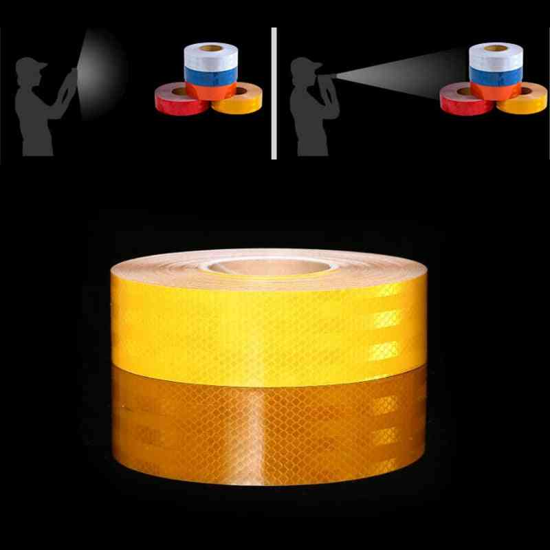 Reflective Strips Car Stickers Car-styling Motorcycle Decoration Safety Warning Tape