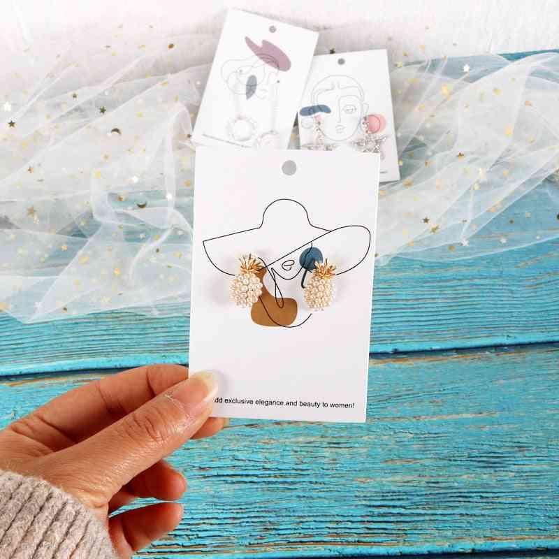 Multi Patterns Earrings Card, Jewelry Packaging Cards
