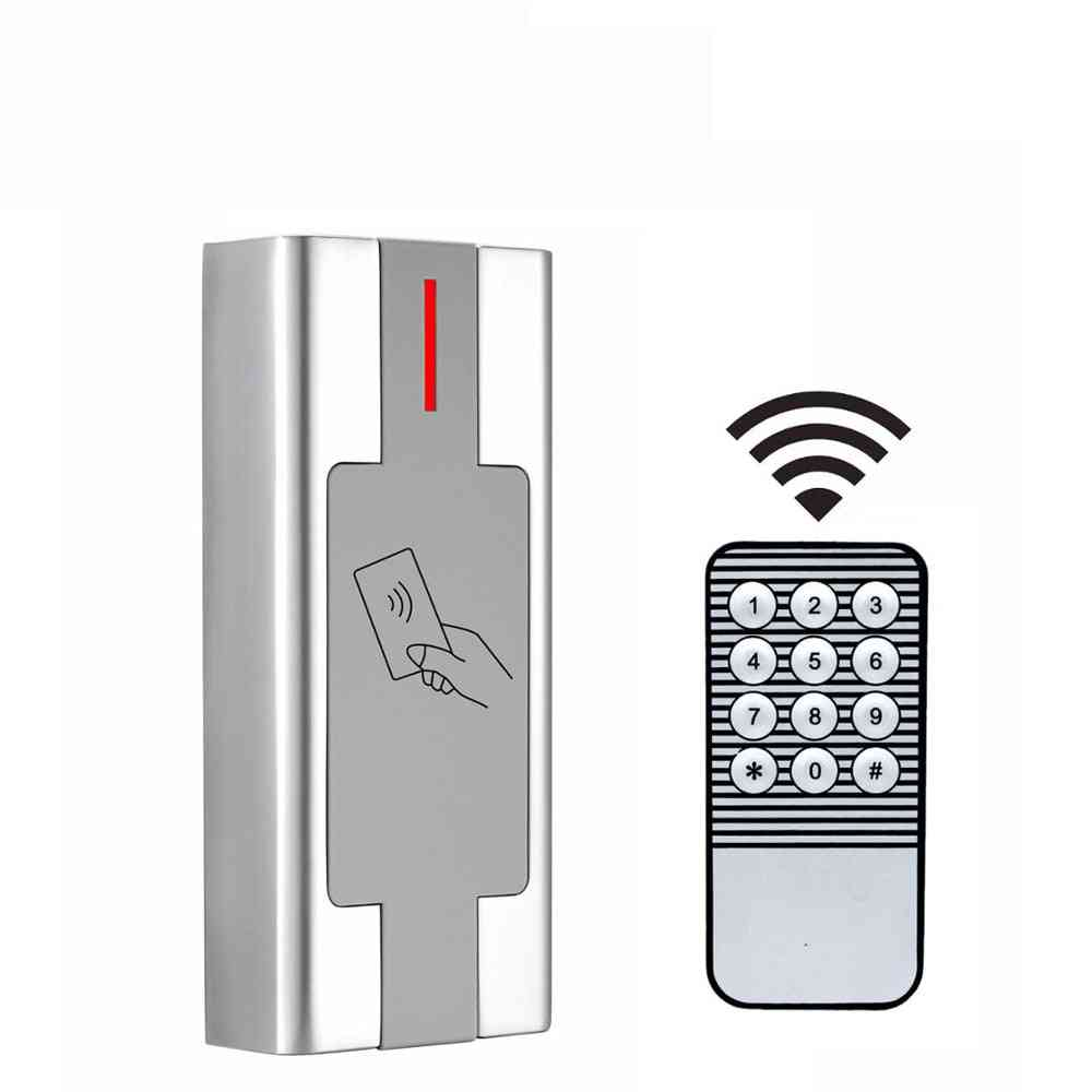 125khz Rfid Standalone Access Controller 2000 User Proximity Rfid Card Reader Access Control System Metal Case