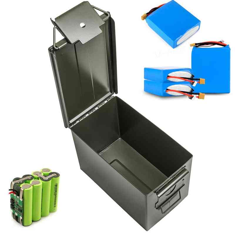 30 Cal Metal Ammo Can Military & Army Style Steel Box