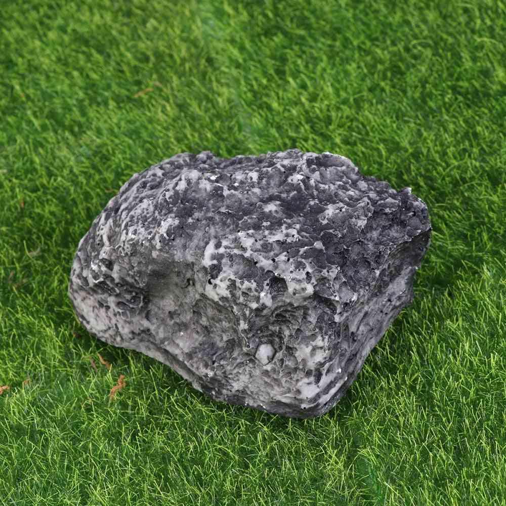 1pc Stone Key Box Fake Rock Hidden Artificial Stone Key Holder