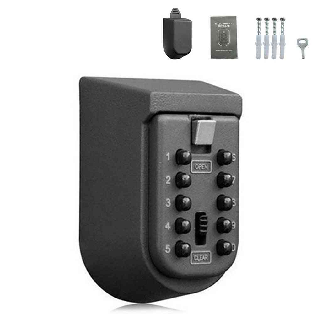 Wall Mounted Outdoor Key Storage Password Key Safe Box