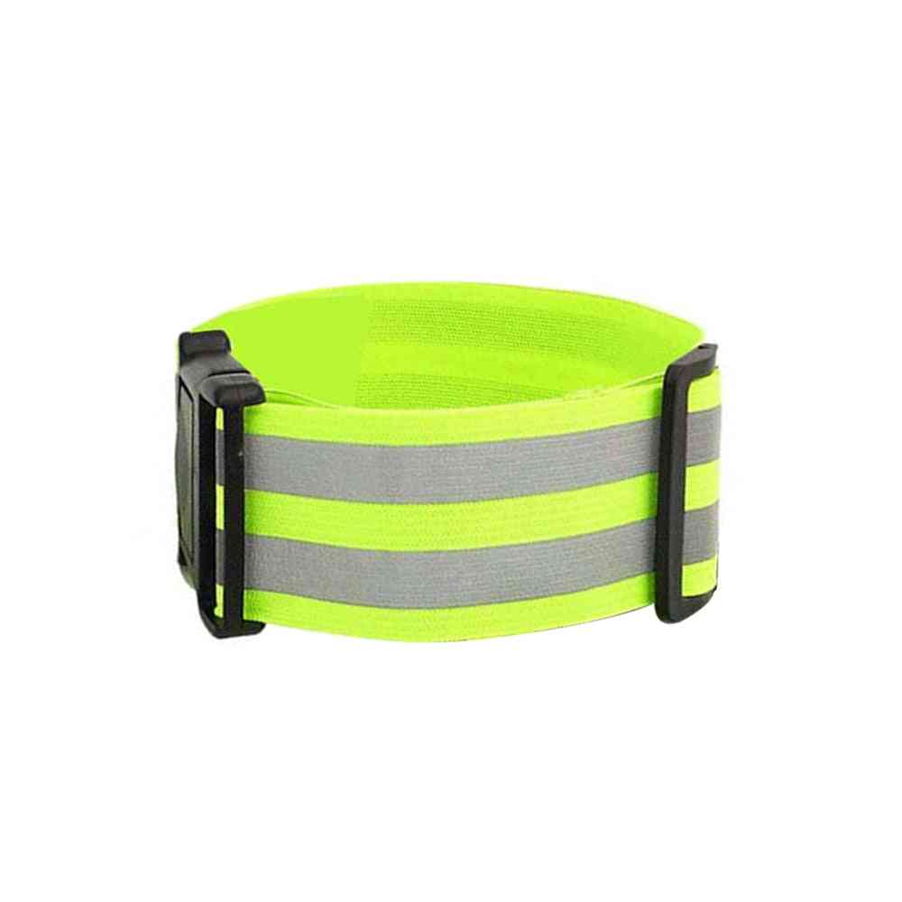 Reflective Band For Running High Visible Night Safety Gear For Arm Wrist Waist