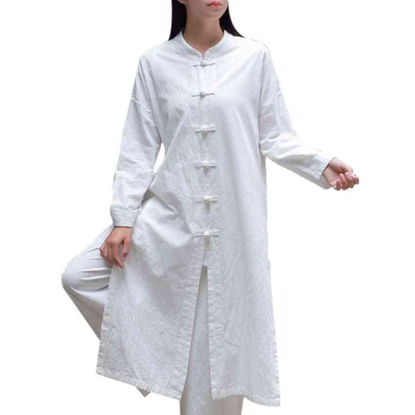 Chinese Traditional Retro Kungfu Wushu Tai Chi Uniform